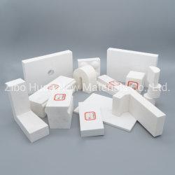 Usure élevée et une bonne résistance à la chemise de 92 %, 95 % Pre-Engineer alumine céramique