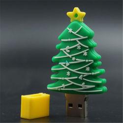 최저가 크리스마스 맞춤형 PVC USB 컴퓨터 액세서리 선물