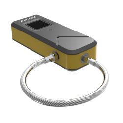 Портативный биометрический считыватель отпечатков пальцев Lock Замок навесной замок для использования вне помещений