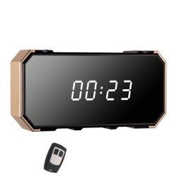 O produto mais recente câmara Ocultar Horas Relógio com versão de noite Alarme Activado APP Realtime Video Mini câmara (AVP022A13)