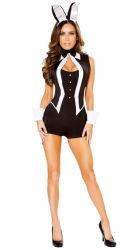 Kostuum van het Konijntje van de Smoking van Carnaval van de Levering van de Partij van het Kostuum van de Mascotte van de Kostuums van de Lingerie van Halloween het Sexy Volwassen Ongehoorzame