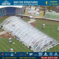30 x 60販売のための屋外の透過アーチの屋根の頂上事象の商業玄関ひさしのテント