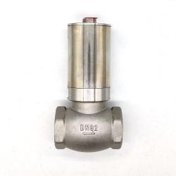 T형 앵글 시트 밸브 스테인리스 스틸 앵글 밸브 공압 앵글 시트 밸브