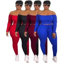 2021 Plus Size Dameskleding Fashion Women Fall Clothes High Quality Outfits tweedelige set Dameskleding