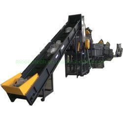 Vollautomatischer Abfall PP PE Kunststoffrecyclingmaschine