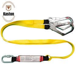 Sangle de sécurité Kaston Polyester longe avec absorbeur de corde