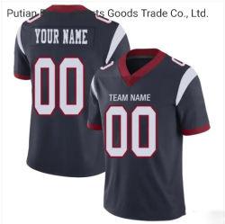 새로운 형식 도매에 의하여 수를 놓는 축구 셔츠 관례 의복