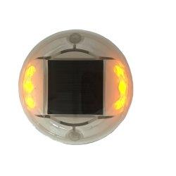 Круглый пластмассовый Cat Eye LED солнечной дороге маркеры светоотражающие дорожных столбиков