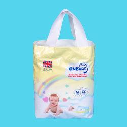 Mosquito-Repellent respirável bebé descartáveis puxe as calças calça bebê fralda estilo anti-mosquito fraldas