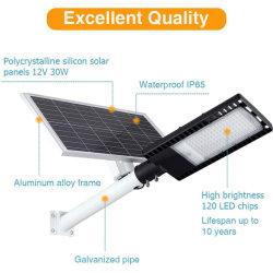 150W LED luces de calle solar al aire libre, IP65 Resistente al agua el anochecer al amanecer de la luz de la zona de seguridad con sensor PIR &Luminosidad& El Control de tiempo para Street &patio jardín&