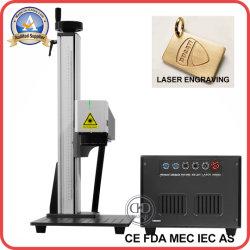 Haustier versieht Foto-Firmenzeichen-Namen-Laser-Markierung/Stich-/Drucken-Maschine auf Metall mit Warnschild