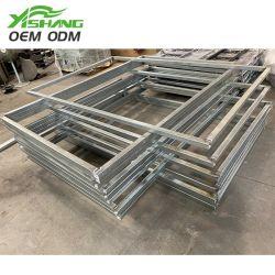 Zerteilt kundenspezifische Herstellung galvanisiertes Aluminiumschweißen Wand-Stahlrahmen-Blech-Teil