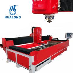 CNC van de Machines van Hualong Machine van de Verwerking van de Steen van de Kunst van de Gids van de Controle de Lineaire