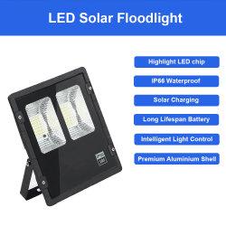LED de exterior Holofotes Solar 50W lâmpadas à prova de jardim de fábrica