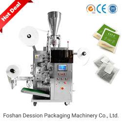 Automatische theezak Voedingspoeder vullen en afdichten theezak Verpakkingsmachine voor filterpapier