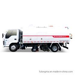 Fulongma Cbm 4 depósito de basura Camión Limpieza de Calles escoba vacío