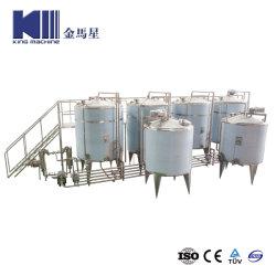 Proyecto Tunkey Ultra Clean automático leche Café Bebidas bebidas lácteos de procesamiento de la planta de mezcla de equipos de la máquina