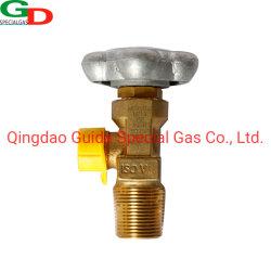Soupape de vase d'oxygène durables Régulateur de pression de vérin à gaz Qf-2une soupape de vase de CGA