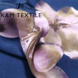 16mm Imprimir tecido de seda e Tingidos de tecido de seda acetinado