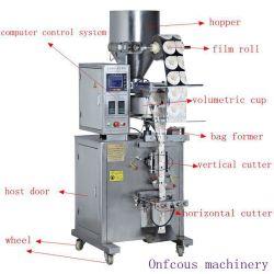 Confezionatrice automatica verticale per il confezionamento di zucchero secco/sale/riso/cereali/particelle