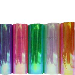 Arco-Íris Filme de embalagem PET de PVC Candy Torça Sequin Filme para Disco Toffee Candy