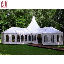 1000 personnes Capacité dîner de fête de mariage pas cher grand chapiteau avec doublure décoration de tentes