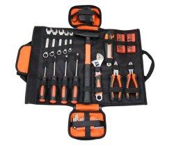 مجموعة الأدوات اليدوية لإصلاح الأدوات الميكانيكية 45PCS، من الفولاذ الكربوني مع معالجة الحرارة