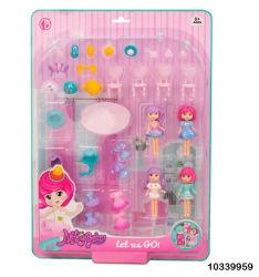 تجارة الجملة التعليم DIY الأميرة مجموعة الألعاب كتل Toys /1033959