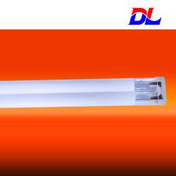 Двойной трубы из кварцевого стекла средневолновые инфракрасные лампы/обогревателя/передатчик для пластмассы процесса