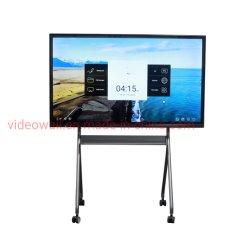DS tech série X 55 65 75 85 86pouces écran tactile LCD Android8.0 de tableau blanc interactif SMART Board avec stylo