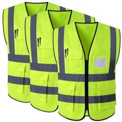 Светоотражающий жилет, куртка, лента, ткань, конструкция, безопасность, жилет, высокий уровень Заметность Работа Светоотражающая одежда
