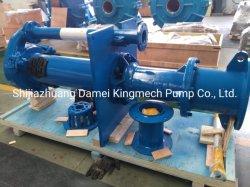 Pompa per fango verticale centrifuga; pompa per liquame sommersa; pompa ad albero lungo-sommersa