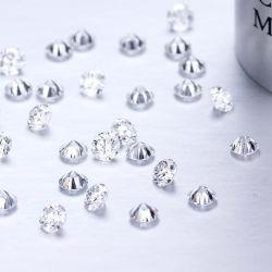 1カラット0.9mm円形のDef対Hphtの実験室によって育てられるダイヤモンド