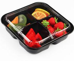 プラスチック使い捨て可能なフルーツサラダボックス食品包装の容器