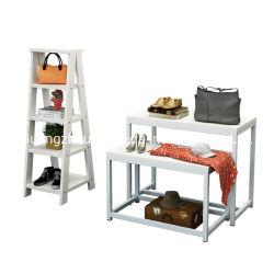 靴および袋のための新式の袋の記憶装置の表示棚の家具デザイン