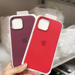 Telefono cellulare colorato con ricarica wireless di alta qualità silicone magnetico trasparente Custodia MagSafe gel di silice per iPhone 12 Accessori con Animazione