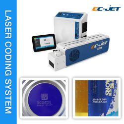 طابعة تعمل بوضع علامة ليزر فوق البنفسجية لـ PVC/PPR/HDPE/LDPE/ABS سلك/كبل/أنبوب