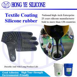 ポリエステル混紡コットン布印刷用のスキッドプルーフ高粘度 10:1 液体シリコンゴム