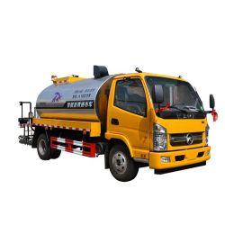 4X2 el asfalto de la pulverizadora Tanque de asfalto Camión Distribuidor de asfalto