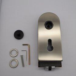 Accesorios de cristal de la puerta de cristal de la tornillería de acero inoxidable de aleación de zinc Silient cerradura de puerta de vidrio