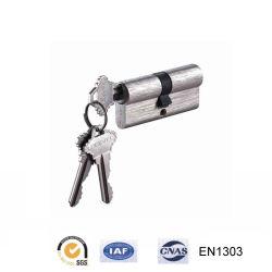 مفتاح رئيسي من طراز Pure Brass معتمد من En1303 مع نظام موربيز لقفل أسطوانة الباب/مصنّع المعدات الأصلية (OEM) أسطوانة قفل مقبض باب النظام مع 6 مسامير