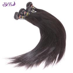 Прямой Raw бразильского 100% машины, Виргинских Cuticle совмещены волос