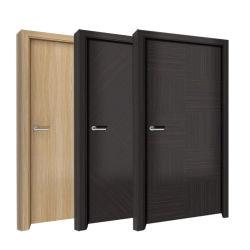 Современный дизайн отеля звукоизолирующие внутренние спальня водонепроницаемый WPC ПВХ твердые деревянные двери