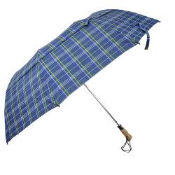 Pliage Parapluie ventilé, vérifier la conception de la poignée en bois parapluie