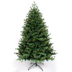 Yh1902 새로운 디자인 혼합 파인 니들과 PVC 크리스마스 트리 장식품으로 크리스마스 트리를 장식합니다