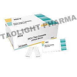 Une étape de maladies infectieuses Le paludisme/VHC/VIH/Kit de test rapide de la syphilis Test de bande