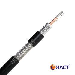 Câble de communication CP CATV de vidéosurveillance de la CEA PVC Veste RG11 sur câble coaxial de vidéosurveillance