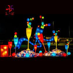 Huayicai 2020 옥외 큰 중국 축제 손전등 빛 램프