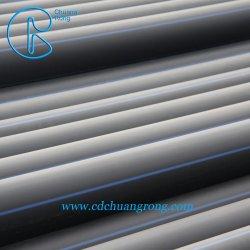 Tubo de HDPE con banda azul para agua/ suministro de gas y minería del carbón