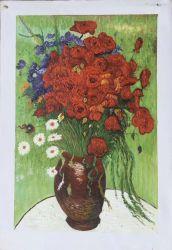 壁の装飾のためのハンドメイドのゴッホの花の油絵
